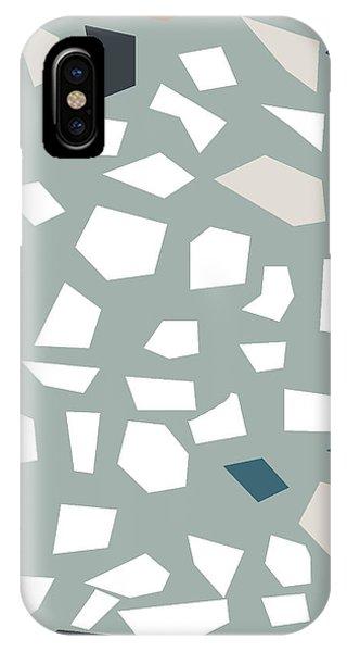 Stone Wall iPhone Case - Terrazzo 1- Art By Linda Woods by Linda Woods