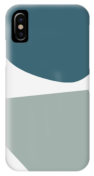 Teal iPhone Case - Terrazzo Abstract 2- Art By Linda Woods by Linda Woods
