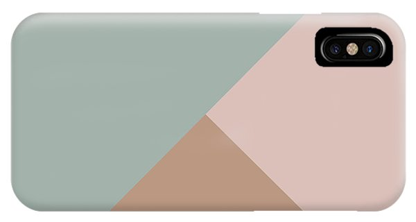 Triangles iPhone Case - Terrazzo Corners 1- Art By Linda Woods by Linda Woods