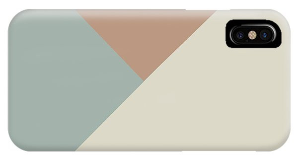 Triangles iPhone Case - Terrazzo Corners 2- Art By Linda Woods by Linda Woods