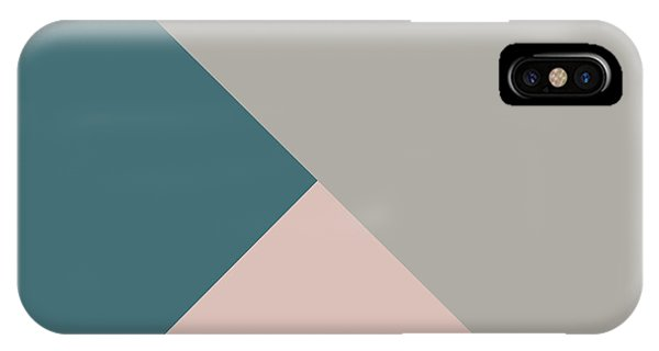 Triangles iPhone Case - Terrazzo Corners 3- Art By Linda Woods by Linda Woods