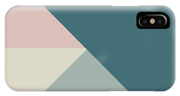 Triangles iPhone Case - Terrazzo Corners 4- Art By Linda Woods by Linda Woods
