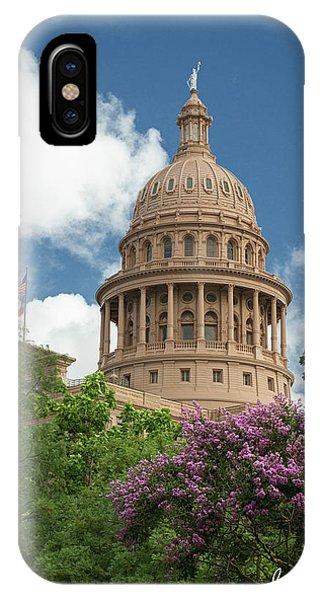 Texas Capital Building IPhone Case