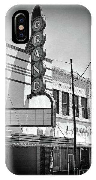 iPhone Case - Texas Forgotten Grand Theatre by Chris Andruskiewicz