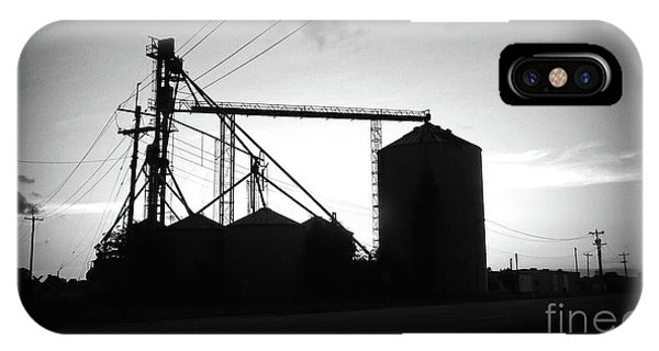 iPhone Case - Texas Forgotten Silos At Dusk by Chris Andruskiewicz