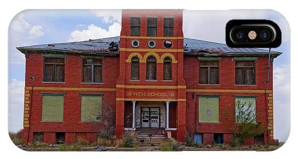 Texas Ghost Town School  IPhone Case