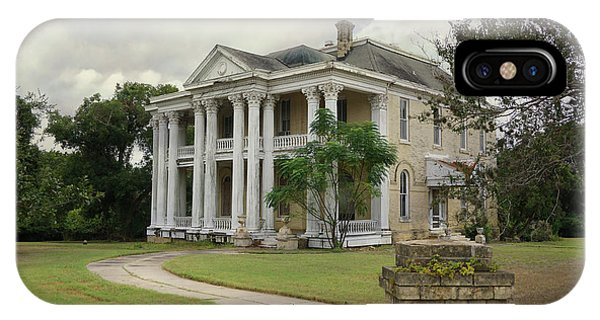 Texas Mansion In Ruin IPhone Case