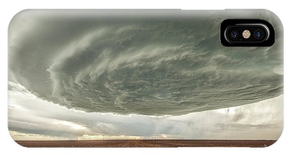 Texas Panhandle Wall Cloud IPhone Case