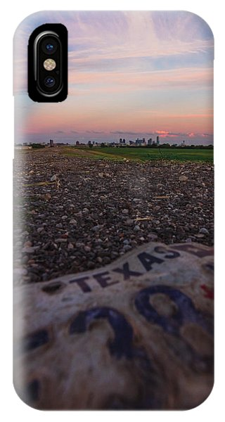 Texas Tags IPhone Case