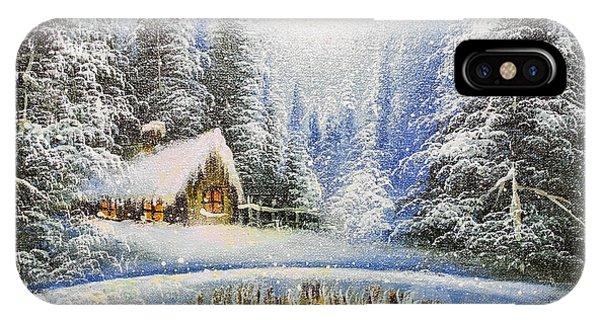 Modern iPhone Case - Texture Oil Painting, Impressionism Oil by Koliadzynska Iryna