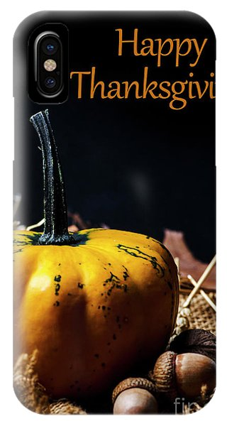 Thanksgiving Dinner Invitation Card. IPhone Case