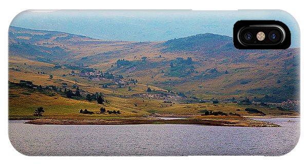 IPhone Case featuring the photograph That Small Island by Milena Ilieva