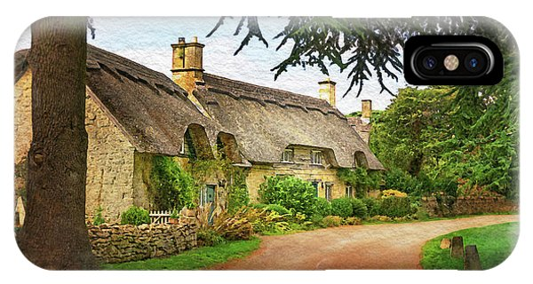 Thatched Roof Lane IPhone Case