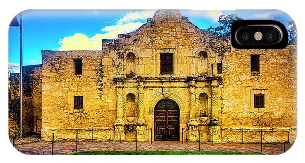 The Alamo iPhone Case - The Alamo by Garry Gay