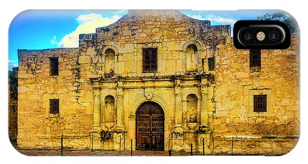 The Alamo iPhone Case - The Alamo Mission by Garry Gay