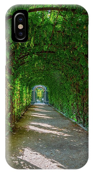 The Alley Of The Ivy IPhone Case