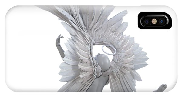 Human Interest iPhone Case - The Angelic Gift by Betsy Knapp