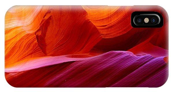 Sandstone iPhone Case - The Antelope Canyon, Page, Arizona by Manamana