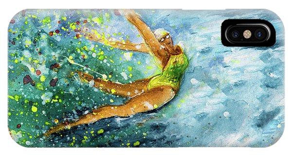 iPhone Case - The Art Of Water Dancing 01 by Miki De Goodaboom