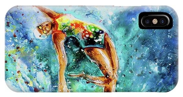 iPhone Case - The Art Of Water Dancing 02 by Miki De Goodaboom