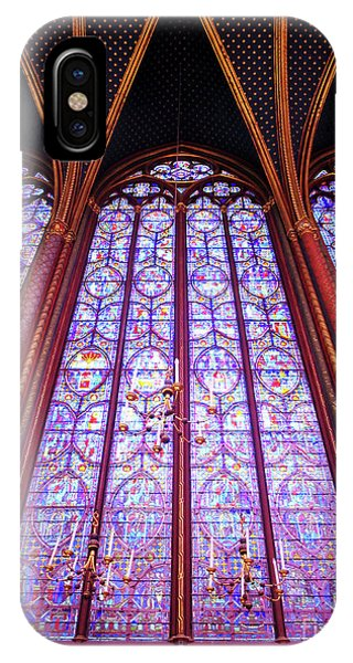 IPhone Case featuring the photograph The Awe Of Sainte Chappelle by Rick Locke
