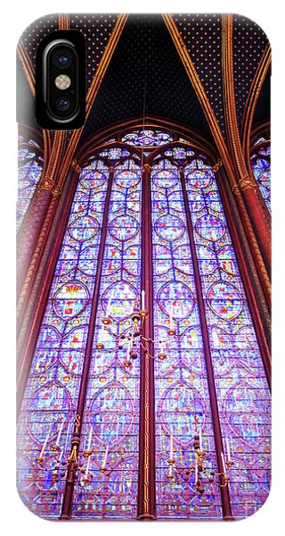 The Awe Of Sainte Chappelle IPhone Case