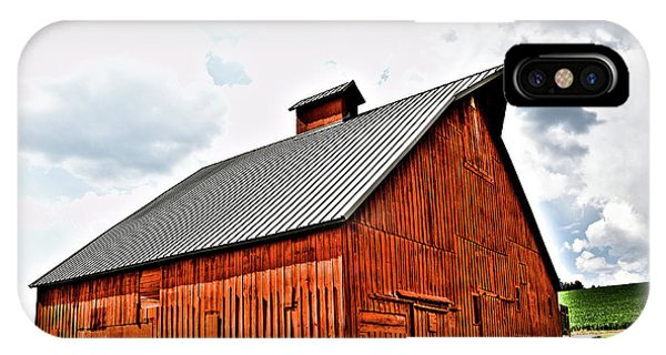 iPhone Case - The Barn At The Arboretum by David Patterson