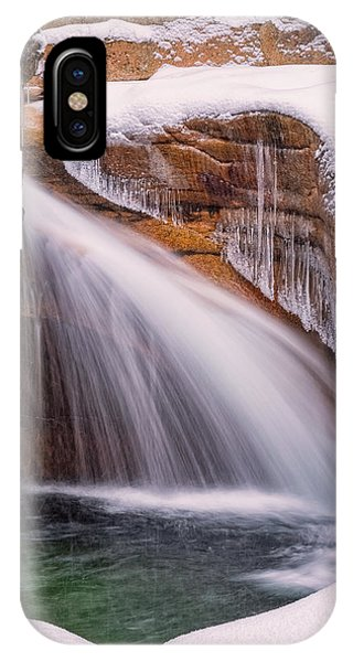 The Basin, Close Up In A Winter Storm IPhone Case