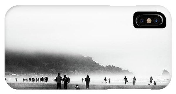 iPhone Case - The Beachcombers by David Patterson