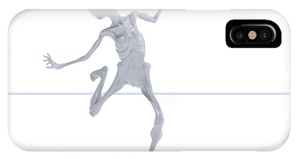Human Interest iPhone Case - The Beautiful Lisa Dance 044 by Betsy Knapp
