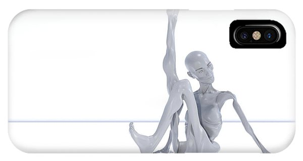 Human Interest iPhone Case - The Beautiful Lisa Show 083 by Betsy Knapp