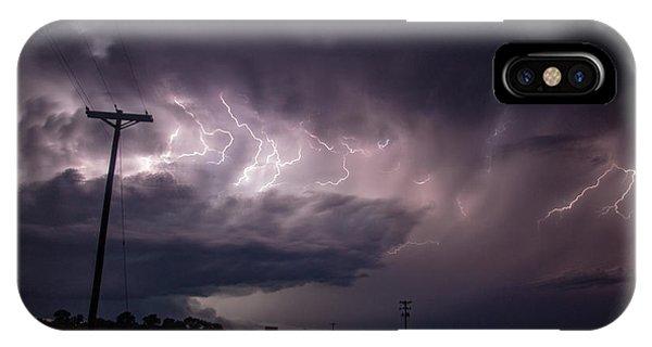 Nebraskasc iPhone Case - The Best Supercell Of The Summer 040 by NebraskaSC