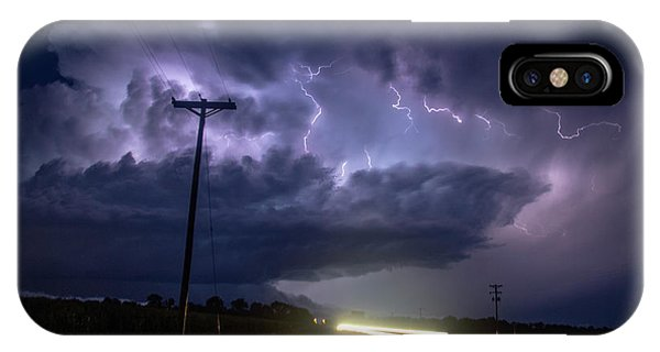 IPhone Case featuring the photograph The Best Supercell Of The Summer 043 by NebraskaSC