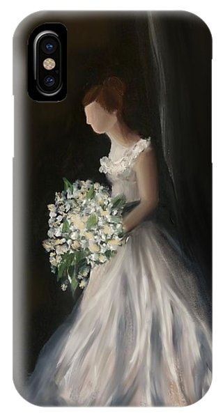 IPhone Case featuring the painting The Big Day by Fe Jones