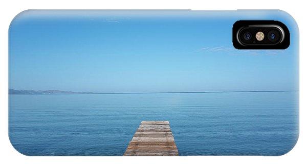 The Big Deep Blue IPhone Case