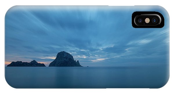The Blue Hour In Es Vedra, Ibiza IPhone Case