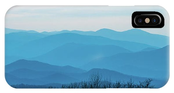 IPhone Case featuring the photograph The Blue Ridge Mountains by Mark Duehmig
