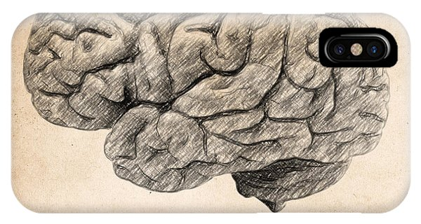 Office iPhone Case - The Brain Is Wider Than The Sky by Zapista Zapista