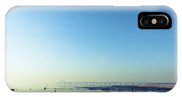 Swedish iPhone Case - The Bridge Between Denmark And Sweden by Kimson