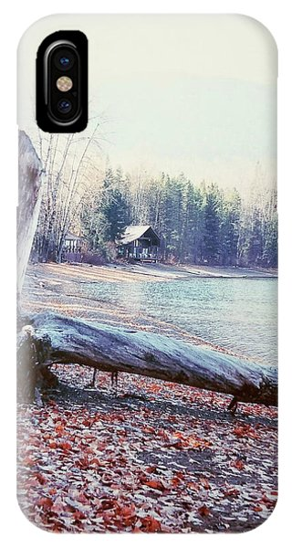 IPhone Case featuring the photograph The Cabin by Deahn      Benware
