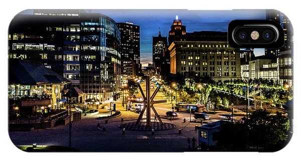 IPhone Case featuring the photograph The Calling At Blue Hour by Randy Scherkenbach