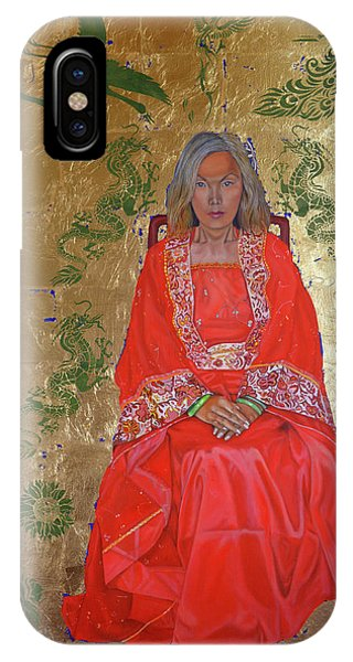 The Chinese Empress IPhone Case