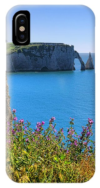 Normandy iPhone Case - The Cliffs Of Etretat by Olivier Le Queinec