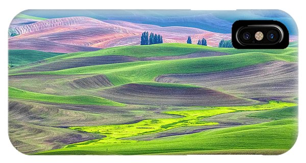 The Color Palette Of The Palouse IPhone Case
