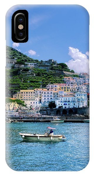 The Colorful Amalfi Coast  IPhone Case