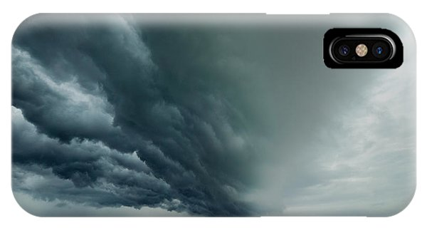 Flooded iPhone Case - The Coming Storm by Mike Phillips