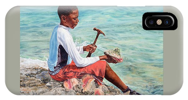 The Conch Boy IPhone Case
