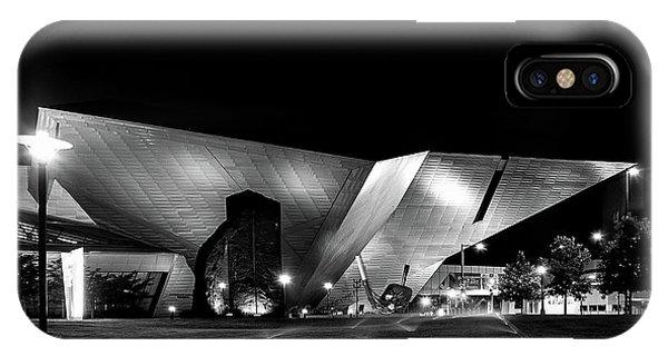 The Dam At Night IPhone Case