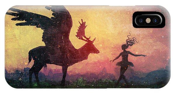 Fairytales iPhone Case - The Dancers by Mario Sanchez Nevado