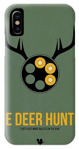 Hit iPhone Case - The Deer Hunter by Naxart Studio
